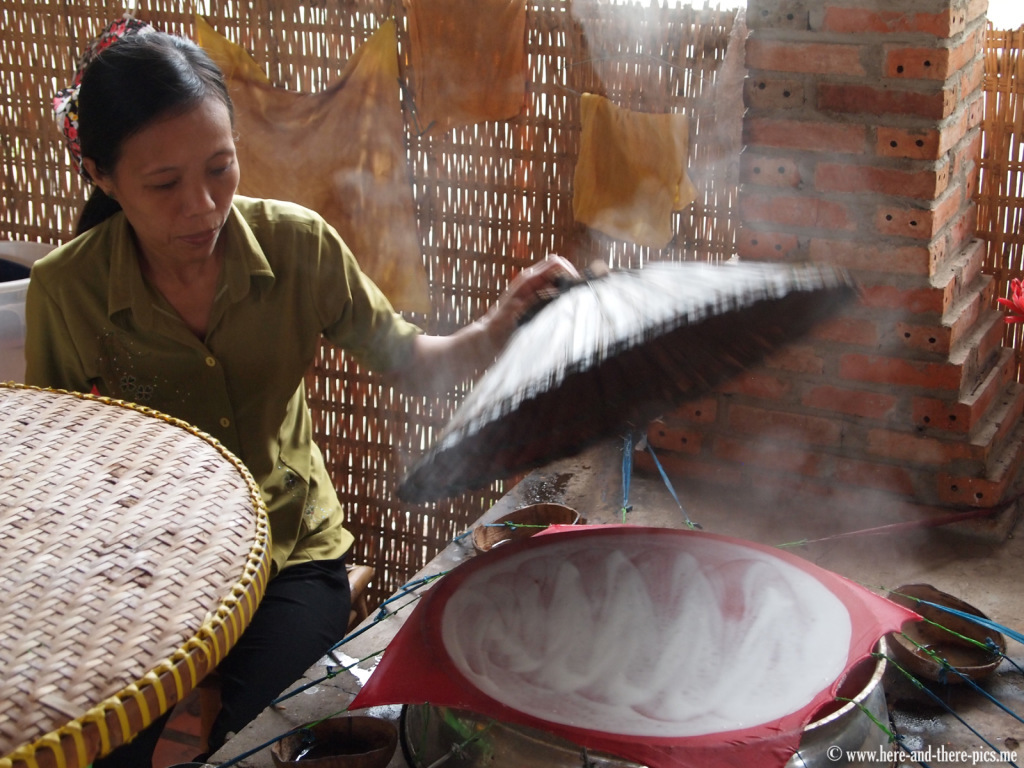 Rice noodles, Mekong Delta, Vietnam