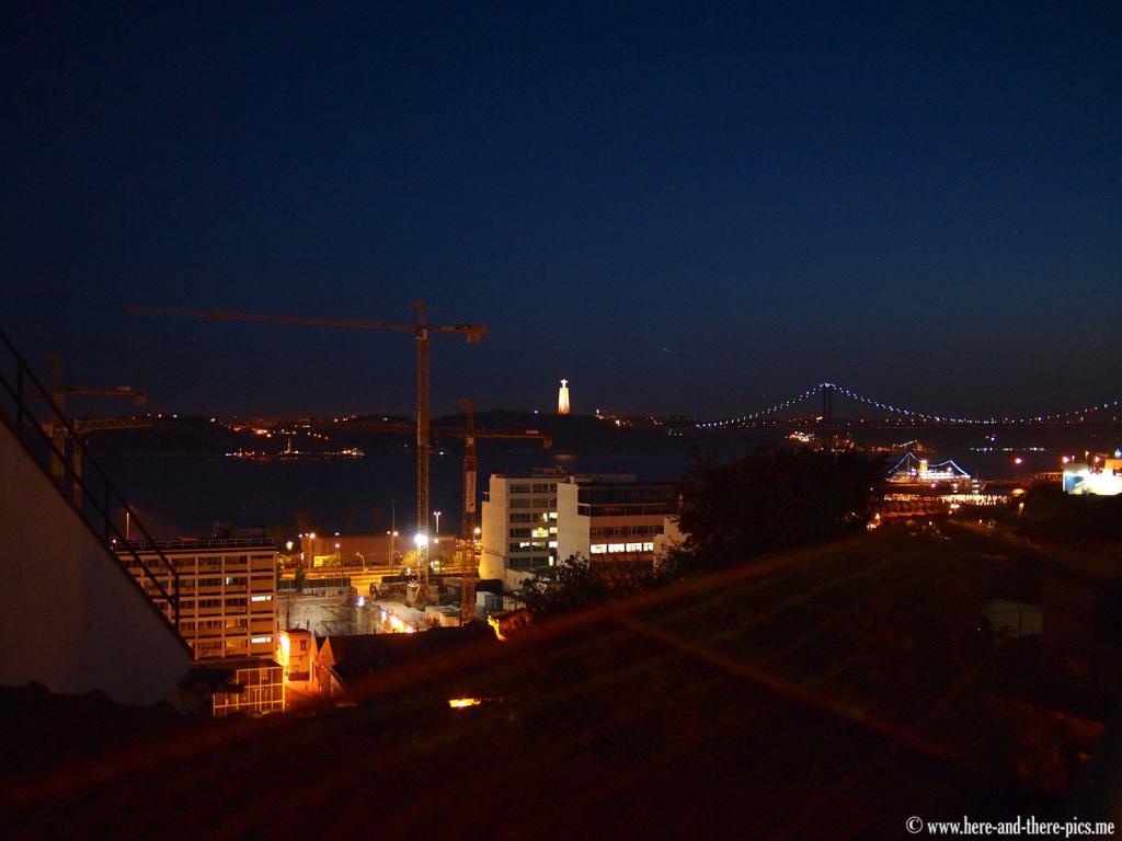 Lisbon by night, Portugal