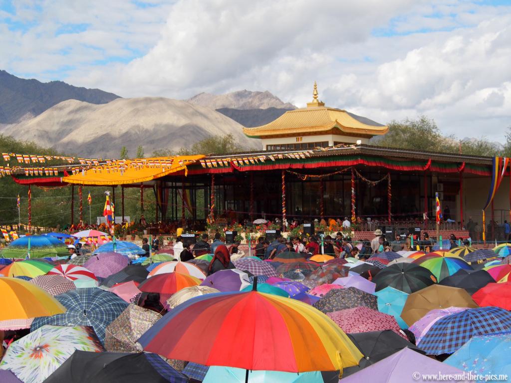 Dalai Lama in Choglamsar